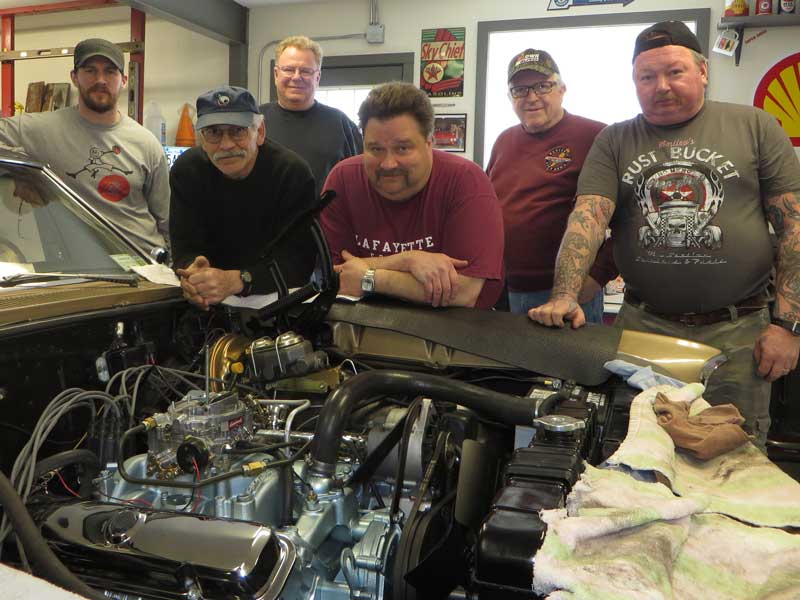 The Crew That Helped Rebuild Skip's Motor